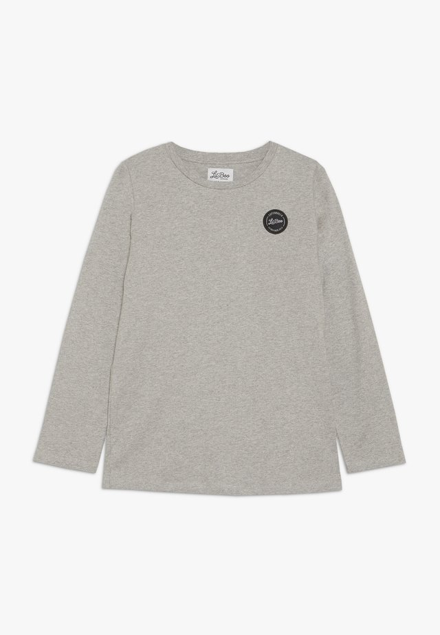 CLASSIC LONG SLEEVE - Langarmshirt - light grey melange
