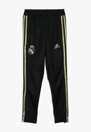 REAL MADRID - Klubbkläder - black/dark gold