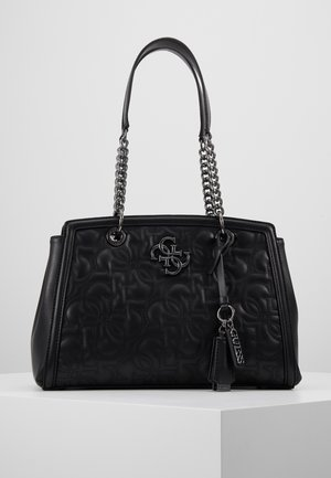 NEW WAVE LUXURY - Handbag - black