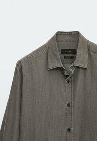 Massimo Dutti - Shirt - metallic grey - 5