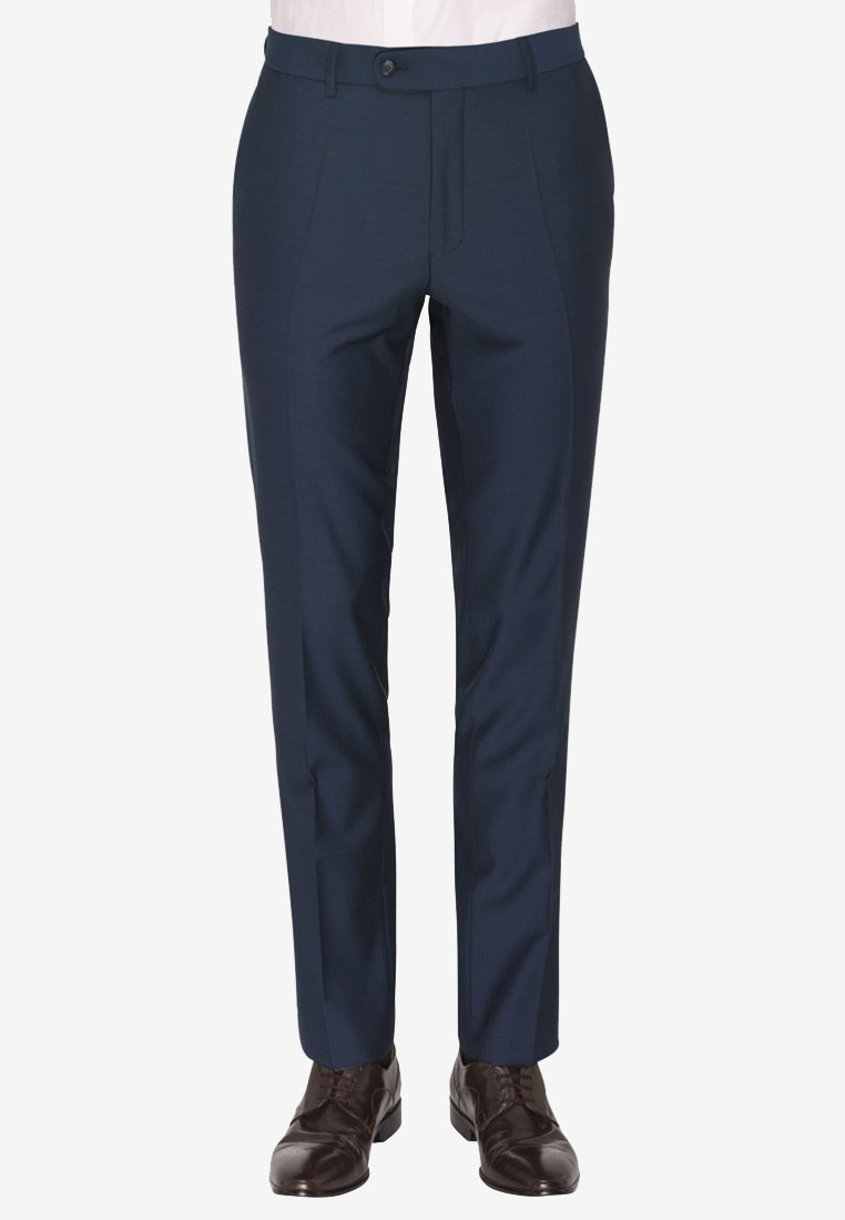 Carl Gross - Suit trousers - dark blue