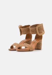 Casadei - Ankle cuff sandals - hanoi florence/natur - 2