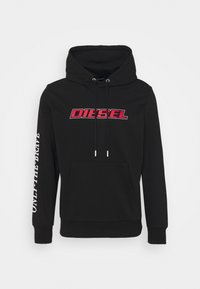 Diesel - S-GIRK-HOOD-K10 - Huppari - black - 0