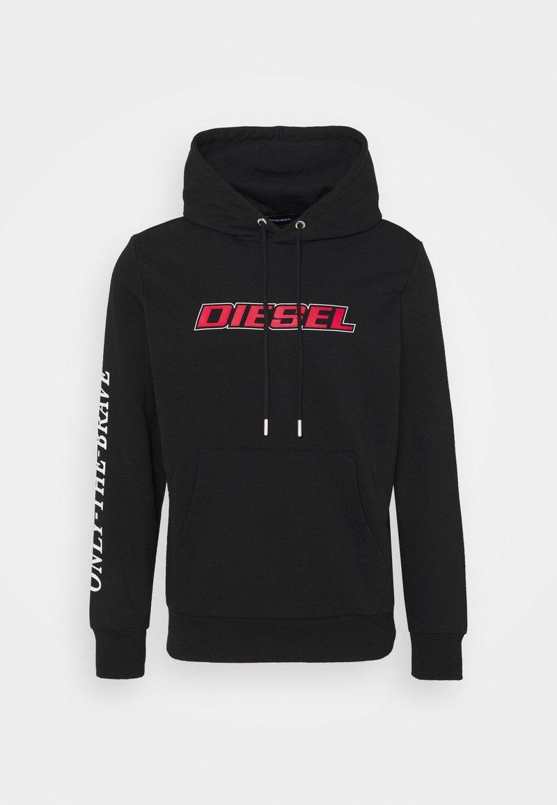 Diesel - S-GIRK-HOOD-K10 - Huppari - black