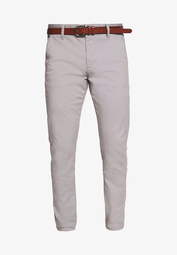 GOVER - Chino kalhoty - light grey