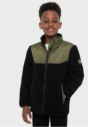 JACKE BORG - Halflange jas - black, green