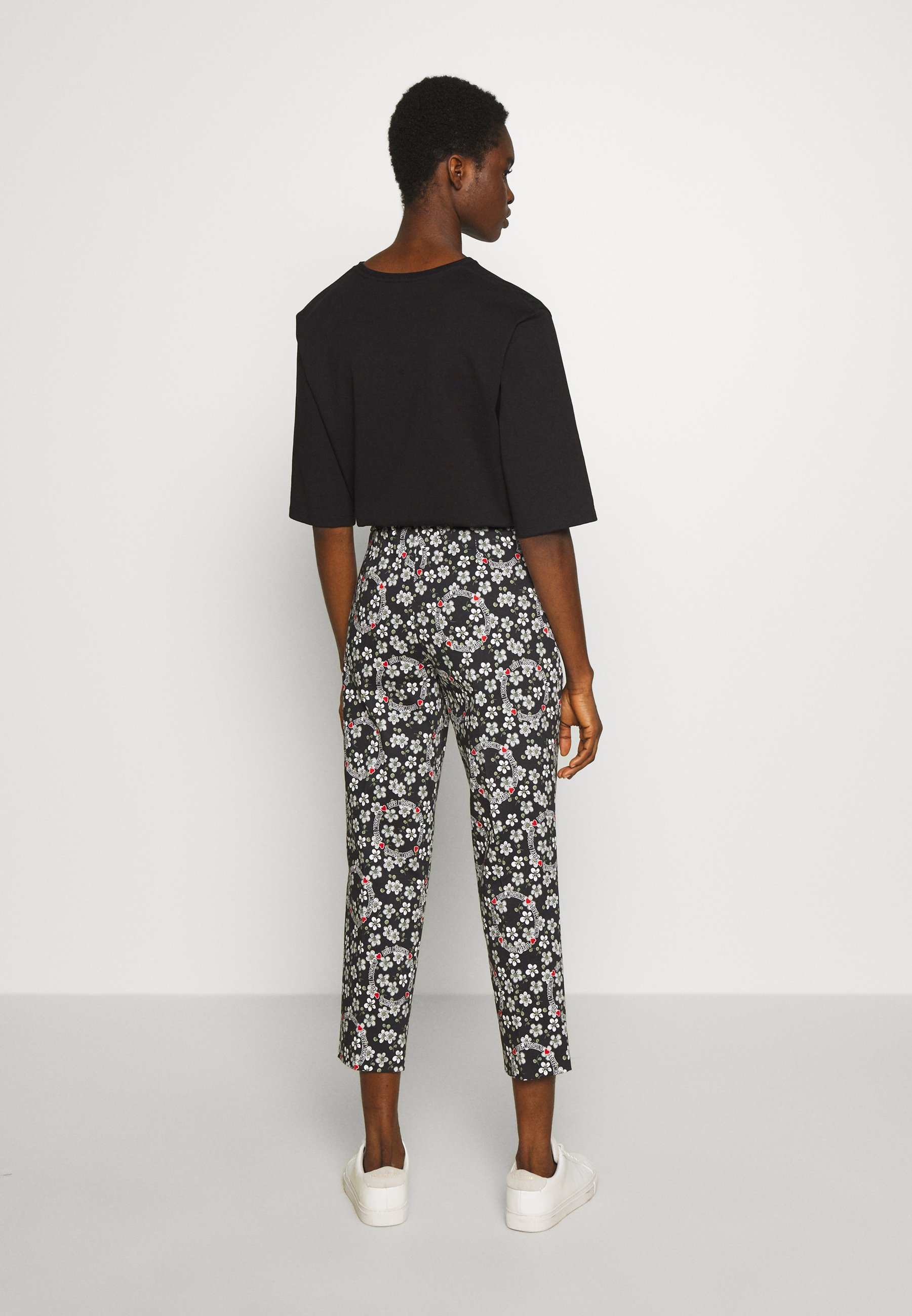 High-Quality Cheap Women's Clothing Love Moschino Trousers nero HIuMsncbp