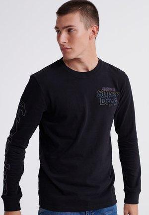 TONAL REACTIVE - Pitkähihainen paita - black