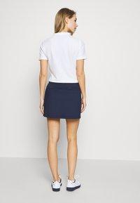 Lacoste Sport - CLASSIC SKIRT - Rokken - navy blue/white - 2