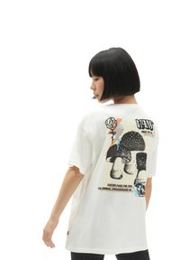 Vans - WM OFF THE GRID OS S/S - Print T-shirt - marshmallow - 1