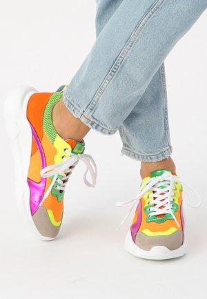 Baskets basses - multicolor