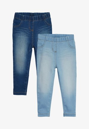 2 PACK - Farkkuleggingsit - blue