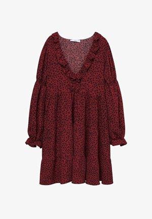 Vestito di maglina - rouge