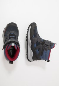 Geox - TERAM BOY ABX - Śniegowce - navy/dark red - 0