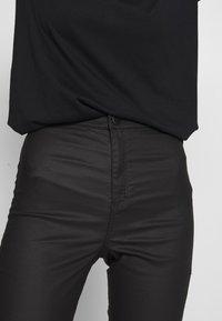 Topshop - COATED JONI - Jeans Skinny Fit - black - 5