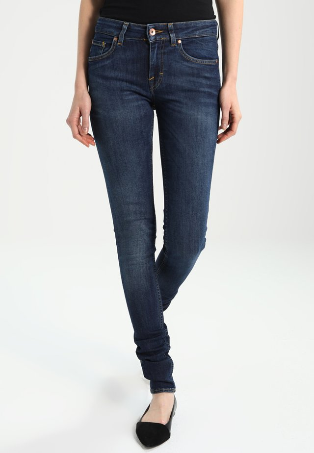 SLIGHT - Skinny-Farkut - blue denim