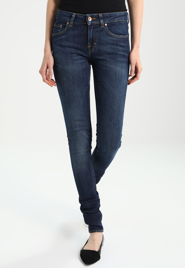 Tiger of Sweden Jeans - SLIGHT - Skinny džíny - blue denim