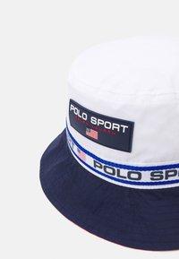 Polo Ralph Lauren - FREESTYLE BUCKET UNISEX - Hat - pure white/newpor - 5