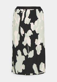Opus - RODINJA - Plisovaná sukně - black - 0