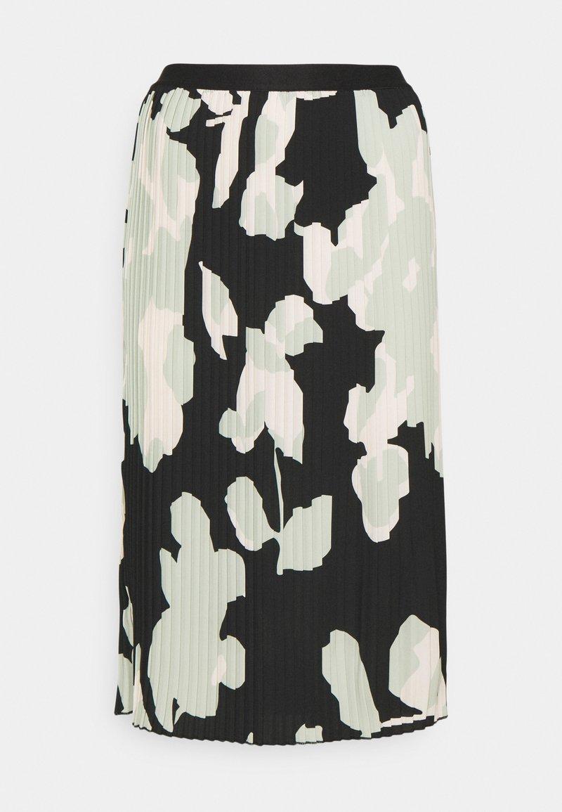 Opus - RODINJA - Plisovaná sukně - black