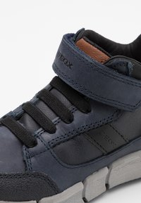 Geox - FLEXYPER BOY - Classic ankle boots - navy/black