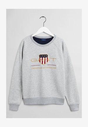 ARCHIVE SHIELD UNISEX - Sweater - light grey melange