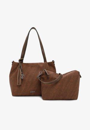 ELKE - Handbag - cognac