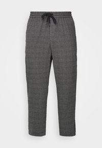 Only & Sons - ONSLINUS PANT CHECKS  - Trousers - grey - 4