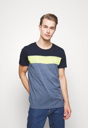 BLANT - Print T-shirt - blue