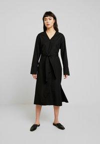 Samsøe Samsøe - LENEA DRESS  - Shirt dress - black - 0