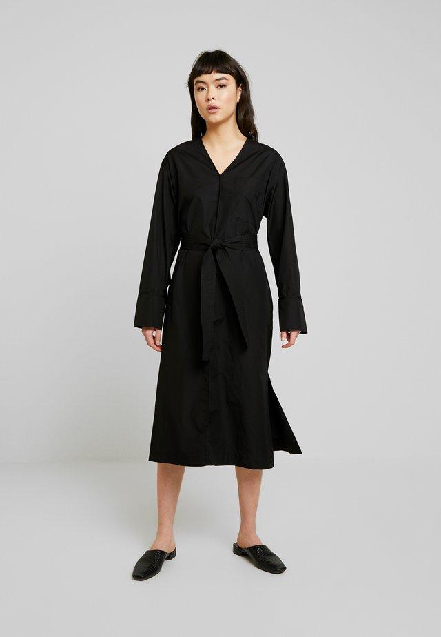LENEA DRESS  - Skjortekjole - black