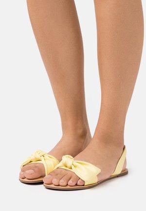 CELLE - Sandals - light yellow