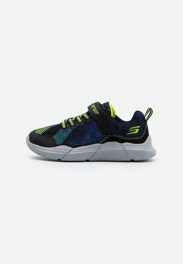 INTERSECTORS PROTOFUEL - Sneakers basse - black/blue/light blue/lime