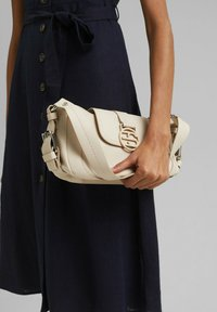 Esprit - FASHION BAGUETTE  - Handbag - light beige - 1