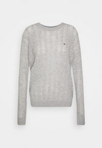 Tommy Hilfiger - CABLE - Jumper - light grey heather - 5