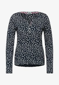 Cecil - MIT PUNKTEN - Long sleeved top - blau - 3