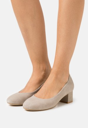 LEATHER COMFORT - Escarpins - grey