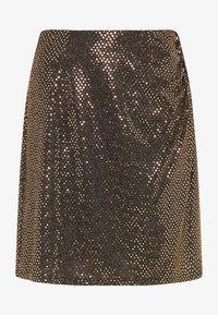 usha - A-line skirt - schwarz nude - 4