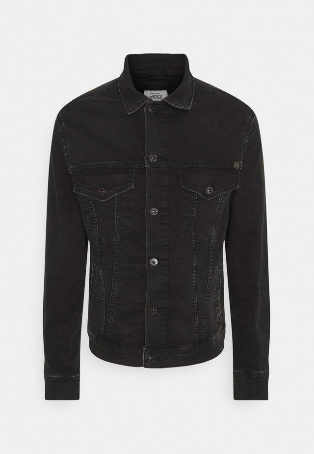 PINNER - Giacca di jeans - black denim
