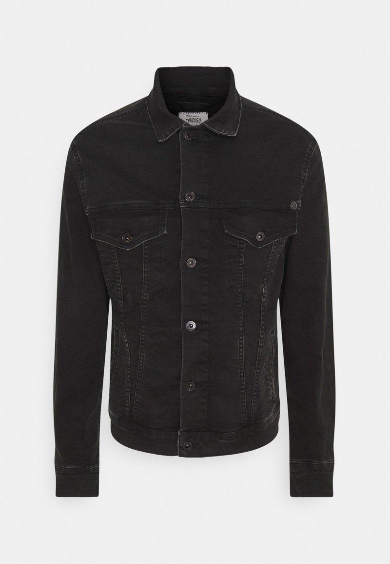 Pepe Jeans - PINNER - Jeansjacka - black denim