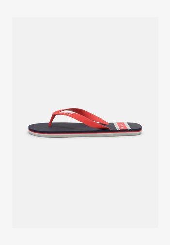 BAY BEACH MAN - T-bar sandals - navy