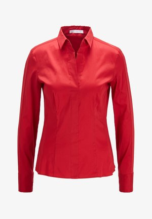 BASHINA - Button-down blouse - red