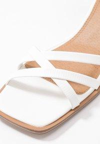 Topshop - DIVINE BLOCK - Sandales - white - 6