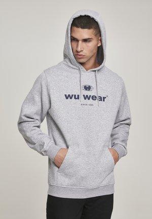 WU-WEAR SINCE  - Hoodie - heather grey