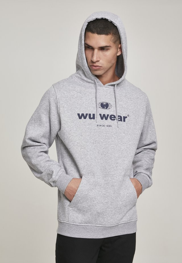 WU-WEAR SINCE  - Sweat à capuche - heather grey