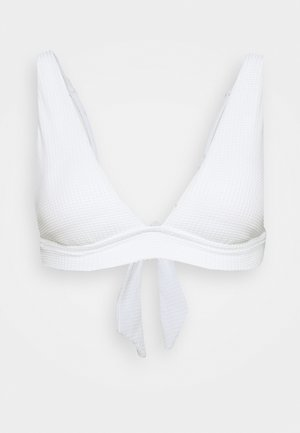 ELONGATED TRIANGLE BAND - Haut de bikini - white