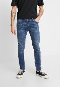 Nudie Jeans - SKINNY LIN - Jeans Skinny Fit - dark blue navy - 0