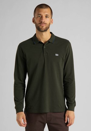 Polo shirt - serpico green