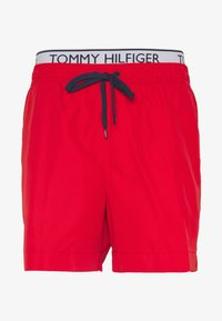 Tommy Hilfiger - MEDIUM DRAWSTRING - Swimming shorts - red - 2