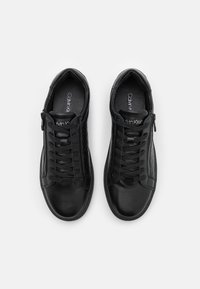 Calvin Klein - TOP LACE UP ZIP - Trainers - black - 3